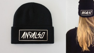 AND.ALSO LIMITED BEANIE £13.99
